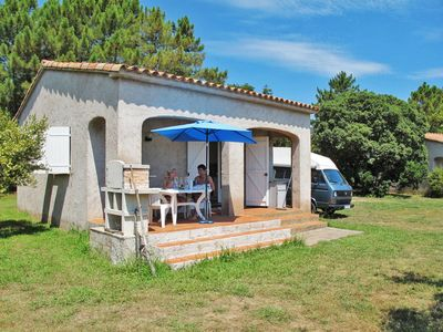 Photo for 2 bedroom Villa, sleeps 5 in Favone with WiFi