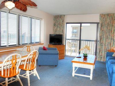 Wonderful ocean view in northern section of Myrtle Beach near many attractions!