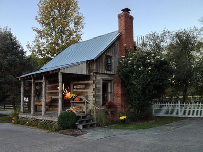 Custom renovation on this 1850 cabin. Inside and out.  As seen last fall