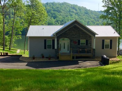 Photo for SPECIAL -- June rates!! 4 Master Bedrooms each full bath. No steps to the lake.