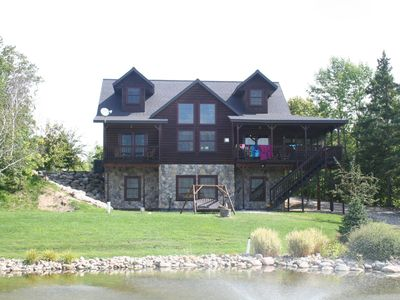 6 Bedroom Maximum of 22 people at WHITE BIRCH RESORT on BLACKDUCK LAKE