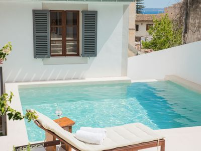 Photo for Beautiful top refurbished villa. An oasis in city center of Palma