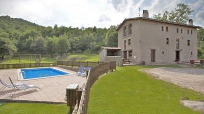 Photo for 6 bedroom Villa, sleeps 15 in Casserres with Pool and WiFi