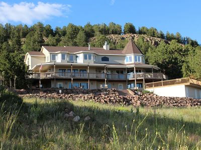 Photo for Alpine Vista Retreat  - Mountain Luxury just west of Colorado Springs!