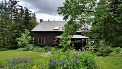Photo for Circa 1840 Hand Hewn Barn on private pond close to skiing by  Manchester, VT