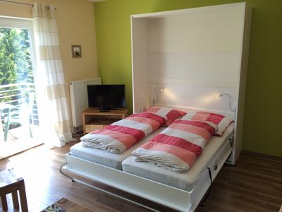 Photo for Near Berlin, 1 bedroom apartment, max. 3 people + child / baby, 400m from the lake