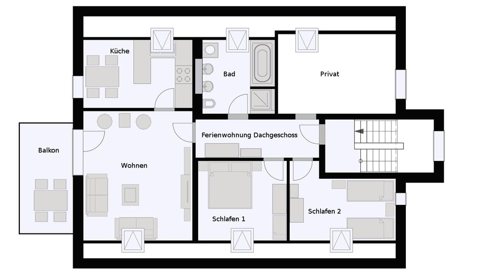 Holiday apartment House Maja: (Münstertal) - Self-catering apartment ...