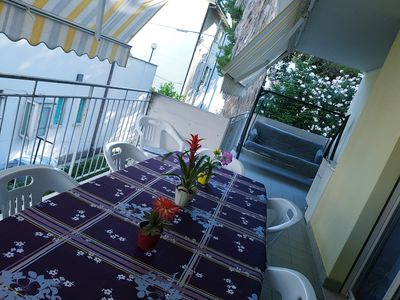 Photo for Alba Adriatica apartment 20 meters from the sea