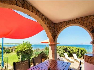 Photo for PUNTA LLARGA- Chalet 8 pax in Colonia Sant Pere- Direct access to the sea. Satellite TV BBQ -101691- - Free Wifi