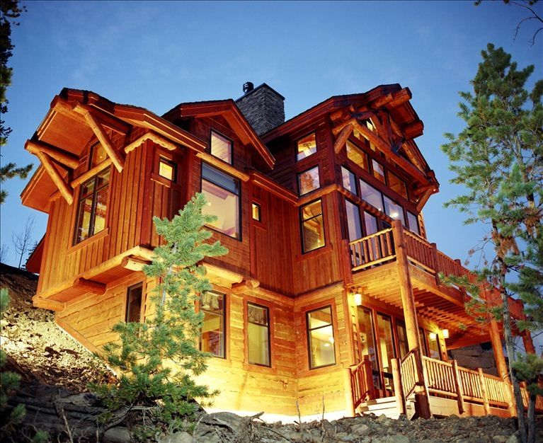 Luxury ski in out with private lodge pool vrbo for Big sky cabin rentals