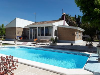 Photo for El Cortijo, comfortable villa with private pool and spacious gardens