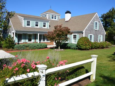 Photo for Exquisite Home With Private Beach; Within Walking Distance Of Dennis Village