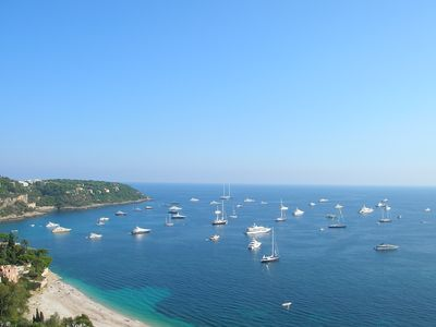 Photo for A 1,5 km from Monaco very nice apartment with sea view with closed garage
