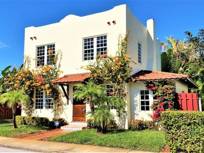 Photo for Charming 1925 Historic Spanish Mission Vacation Rental in the Heart of  WPB FLA.