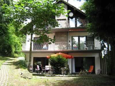 Photo for Holiday appartment with sauna, ideal situated for bikers, motorist and hikers