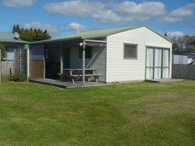 Photo for Whiti Beach Cottage- family and pet friendly