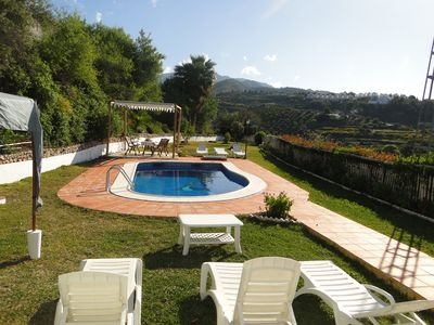Photo for EXTRAORDINARY RURAL VILLA IN FRIGILIANA LA MACERA