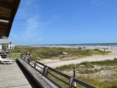 Photo for Beach Front Retreat in the sand - Sleeps 8