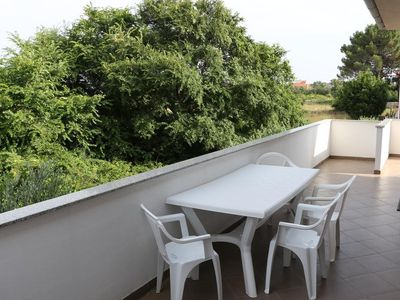 Photo for One bedroom apartment with terrace Zaton, Zadar (A-17268-b)