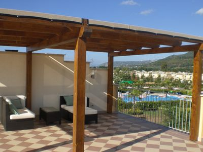 "Photo for Pizzo Beach Club ""Summer Special"" 2 Bed apartment 13F with  Free WIFI and 2 Terr"