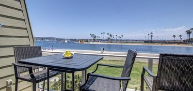 Photo for Beautiful view of the bay from this 2 bedroom condo in the heart of Mission Bay!
