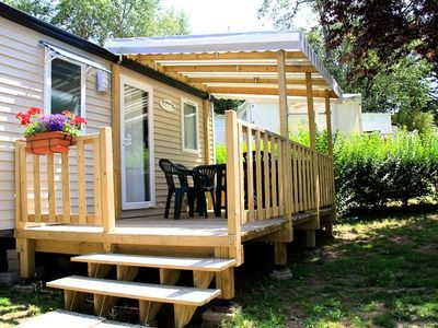 Photo for Camping Eden **** - Mobile home Heaven 2 Rooms 2 Persons