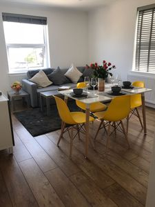 Photo for Modern - 2 Bed Apartment, with Parking, Close to the Town & 5 mins to the Beach