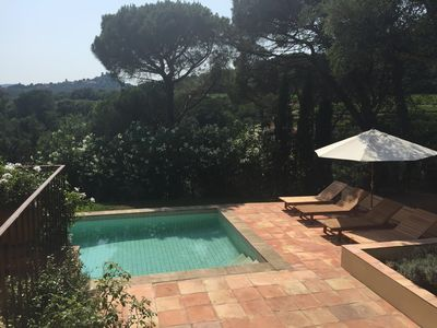 Photo for Stunning Villa - Secluded Area moments from beaches and St Tropez