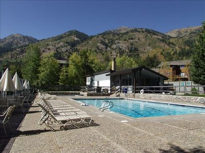 Heated Pool, Large Hot Tubs, Tables, Umbrellas & Sunbathing Chairs