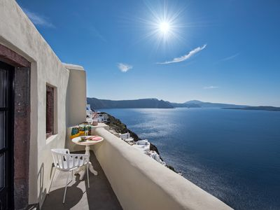 Photo for Aerie beautiful house, heart of Oia's traditional settlement, Caldera view