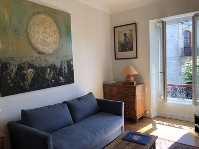 Photo for Charming apartment classified 4 stars place Louis XIV with secure parking