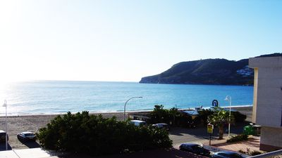 Photo for spacious apartment on the beach in La Herradura