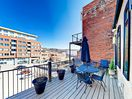 Balcony - Enjoy a large outdoor space in the heart of the city! This rental boasts a private balcony.