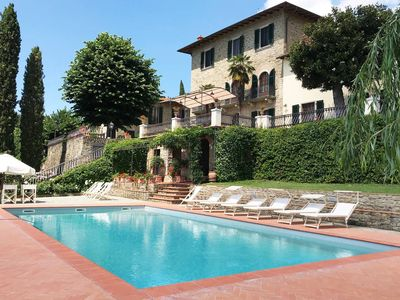 Photo for A Panoramic Tuscan Luxury - Villa Maria in Fronzano