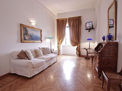 Photo for Style, taste, excuisite roman house, location could not be better,view of Castel S.Angelo,free wi-fi