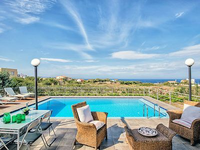 Photo for Vacation home Polo Villa 3  in Stavros, Chania, Crete - 8 persons, 4 bedrooms