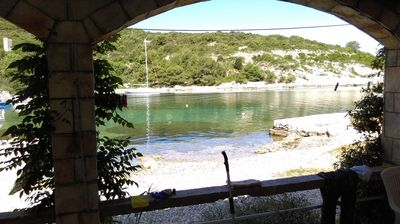 Photo for Apartment Roki  A2(2+2) Mali  - Cove Rogacic (Vis), Island Vis, Croatia
