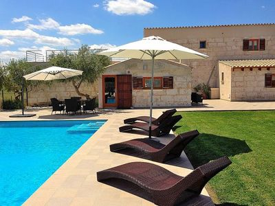 Photo for Muro Villa, Sleeps 6 with Pool, Air Con and WiFi