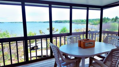 Photo for Rockwood Resort on Georgian Bay - Airy Waterfront Cottage