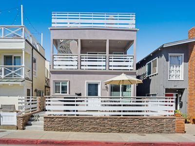 Photo for Incredible home w/ a rooftop patio, partial ocean views, & plenty of space!