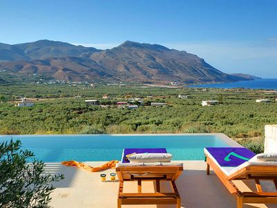 Photo for 2 bedroom Villa, sleeps 4 in Fournados with Pool, Air Con and WiFi