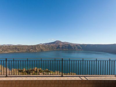 Photo for Casa Lucia overlooking the lake of Castel Gandolfo