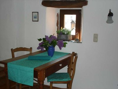 Photo for Living in a listed Winzerhof, Stylish Galeriewohnunge