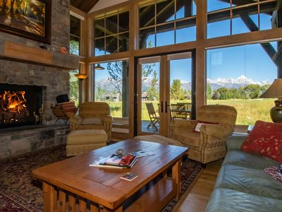 Photo for Dramatic Views of Grand Teton National Park at Jackson Hole Golf and Tennis