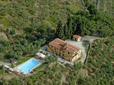 Photo for Tuscany Villa for 10- 12 People - Full Panoramic Pool -Family and Pet Friendly