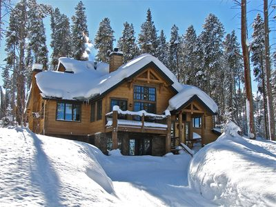 Photo for 6 Bedroom - Peak 8 Luxury Home on shuttle route - 750 yards to Chairlift