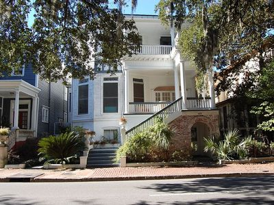 Photo for Landmark Historic District! Gorgeous 2 bedroom on Forsyth Park at fountain