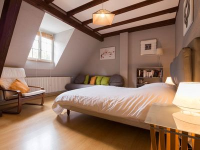 Photo for Apartment 4/5 pers. with private parking in Kaysersberg