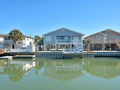 Photo for Mermaids Hideaway, Luxury Channel Home in Cherry Grove with Beautiful Pool Area and Views