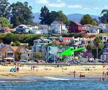 Photo for CAPITOLA OCEAN VIEW - BEACHFRONT STUDIO FOR TWO